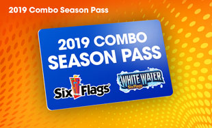 Details about Six Flags Over Georgia 2019 Combo Gold Season Pass $67 99 A  Promo Discount Tool!